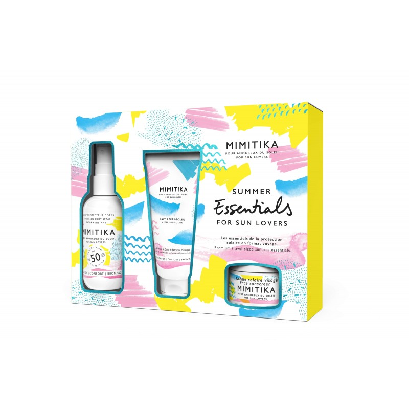 Kit Summer Essentials Body Spray SPF50 - Mimitika - Abril & Amy