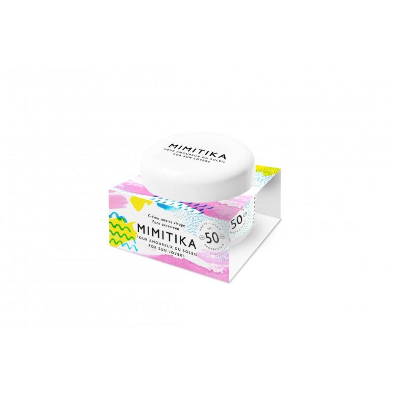Crème visage SPF50 - Mimitika - Abril & Amy